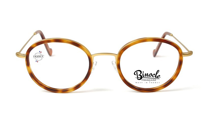 Binocle Française Financier - Or/Écailles Blondes 0,00 €
