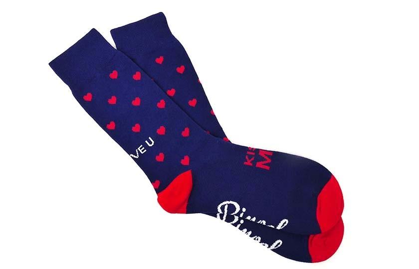 Paire de chaussettes Saint-Valentin Accessoires 8,00€