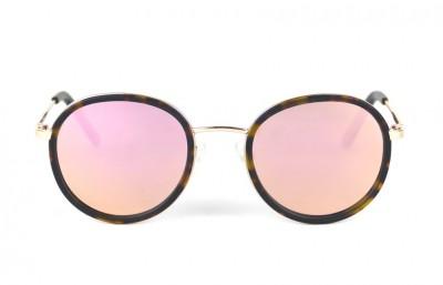 Gold - Brown lenses - Tortoise Mat