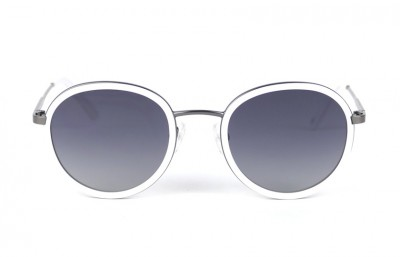 GunMetal- Grey lenses - White