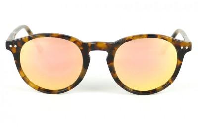 Tortoise Brown - Pink Lenses
