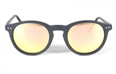 Black Matt - Pink Lenses