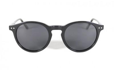Black Shinny - Pink Gold Lenses