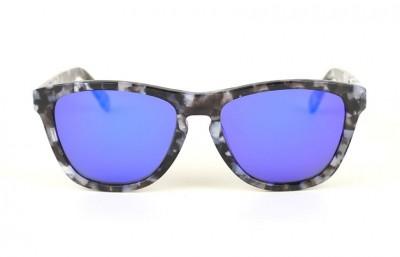Ivory - Blue Lenses
