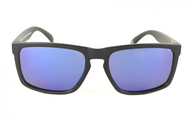 Black - Blue Lenses - Black