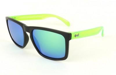 Black - Green Lenses - Green