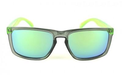 Lunettes de soleil Daytona Daytona Gris - Verres Vert - Vert 29,00€