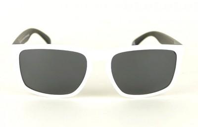 Lunettes de soleil Daytona Blanc - Verres Gris - Noir 29,00€