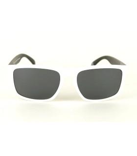 Blanc - Verres Gris - Noir
