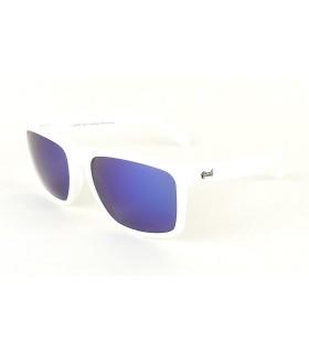Blanc - Verres Bleu - Blanc