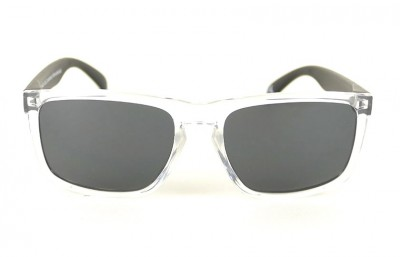 Transparent - Grey Lenses - Black