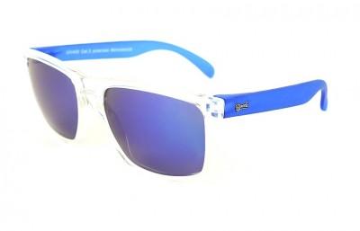 Transparent - Blue Lenses - Blue