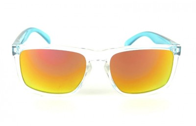 Lunettes de soleil Daytona Transparent - Verres Red Fire - Ice Blue 29,00 €
