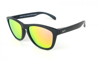 Black - Pink Lenses - Black