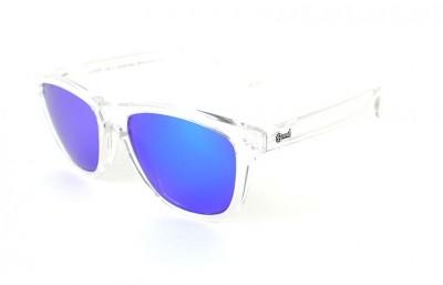 Transparent - Blue Lenses - Transparent