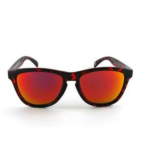 Full Shiny Tortoise - Red Fire lenses