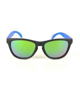Noir - Verres Vert - Bleu