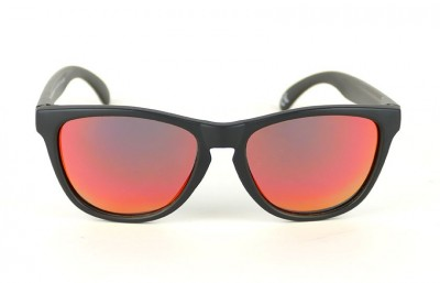Black - Red Fire Lenses - Black