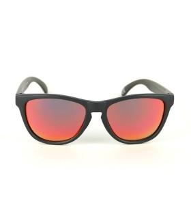Black - Red Fire Lenses - Black