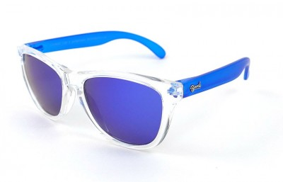 Transparent - Blue Lenses - Blue