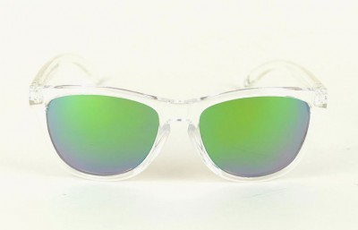 Transparent - Green Lenses - Transparent