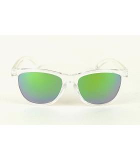 Transparent - Green Lenses - Transparent