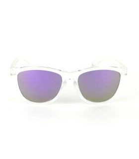 Transparent - Purple Lenses - Transparent