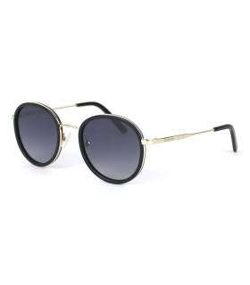 Gold - Shinny Black - Grey Lenses