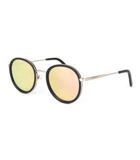 Gold - Pink lenses - Black Mat