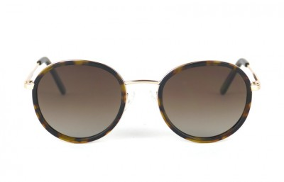 Gold - Brown lenses - Tortoise Mat