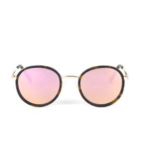 Gold - Verres Pink - Ecaille Mat