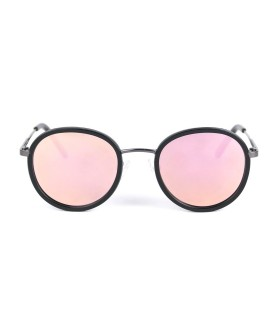 GunMetal- Pink lenses - Black
