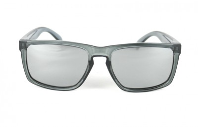 White  - Silver Lenses - Grey transparent