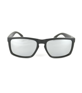Full Grey Transparent - Silver Lenses