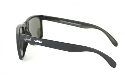 Mo-Daytona Black - Silver glasses