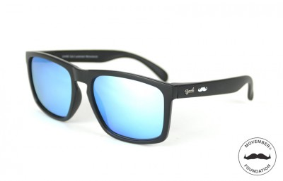 Lunettes de soleil Movember Mo-Daytona Noir - Verres Ice Blue 29,00€