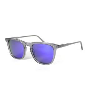 Shinny Grey - Ice Blue Lenses