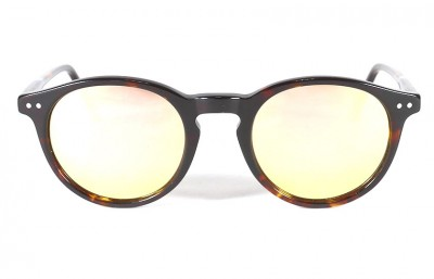 Tortoise Shinny - Pink Lenses