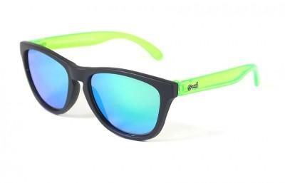 Lunettes de soleil Enfant Noir - Verres Miroir Vert - Vert 25,00€