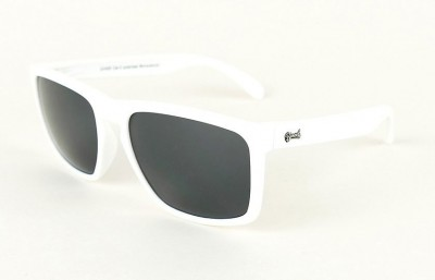 White - Grey glasses - White