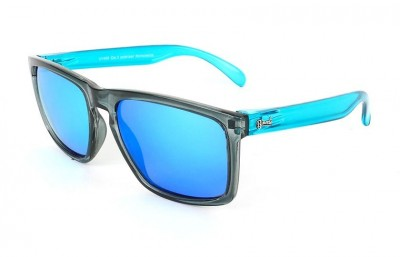 Grey - Ice Blue glasses - Light Blue