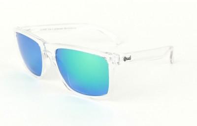 Transparent - Green glasses  - Transparent