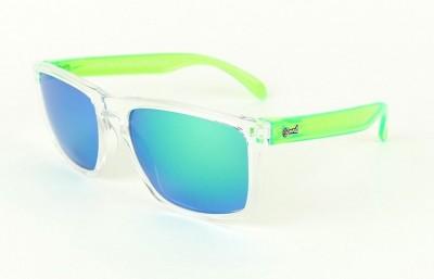 Transparent - Green glasses  - Green