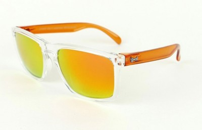Lunettes de soleil Daytona Transparent - Verres Red Fire - Orange 29,00 €