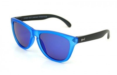 Blue - Blue glasses - Black