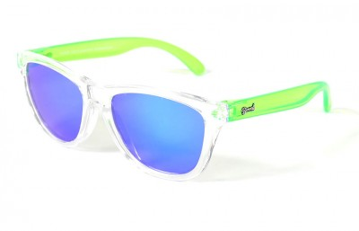 Transparent - Blue glasses - Green