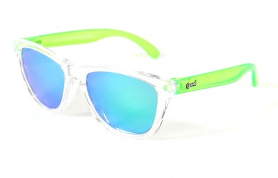 Transparent - Green glasses - Green