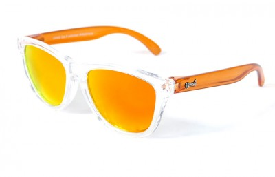 Lunettes de soleil Enfant Transparent - Verres Red Fire - Orange 25,00 €