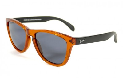 Orange - Grey glasses - Black