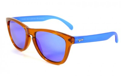 Orange - Blue glasses - Blue